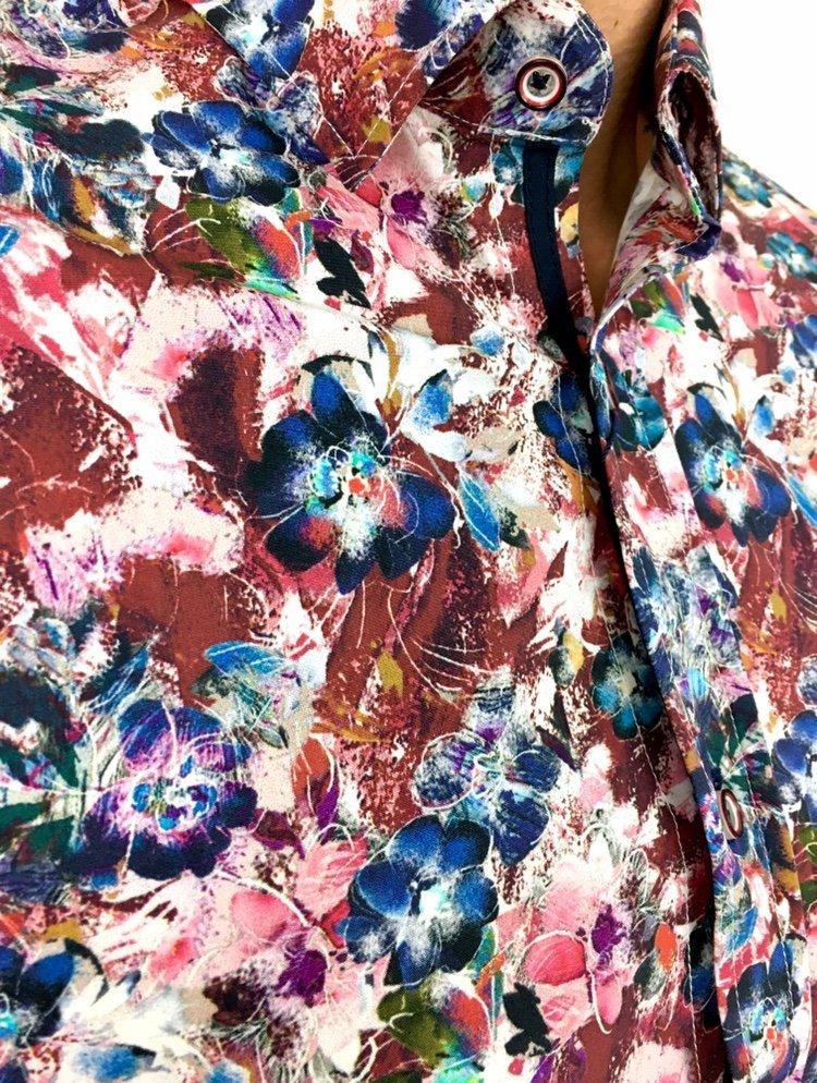 Koszula męska w kwiaty Flower Power 6 mystiqbutik.pl  CNSRu