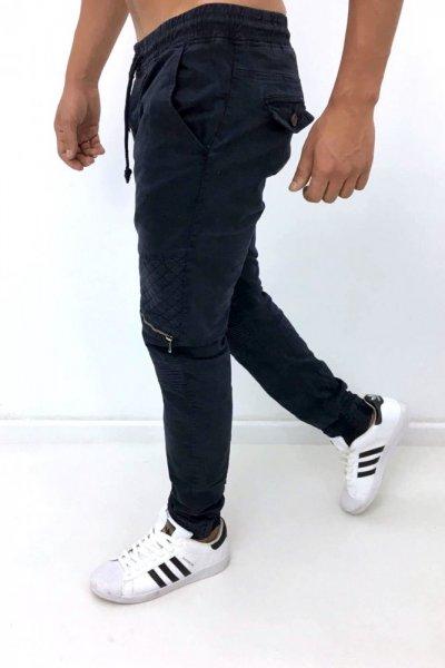 Spodnie bojówki z zamkami 8662-15