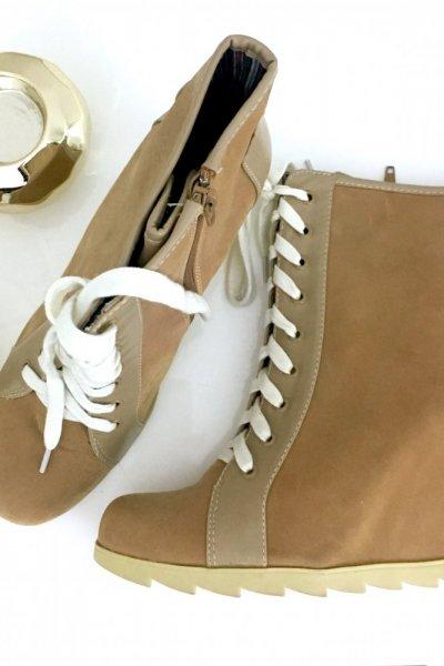 Sneakersy - camel