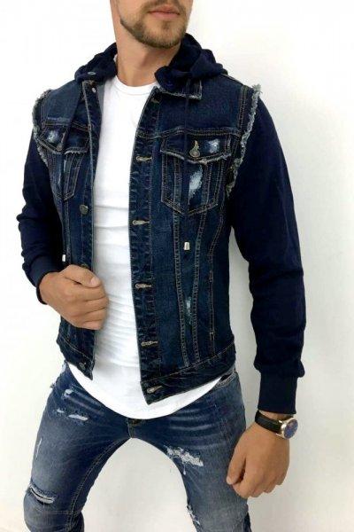 Kurtka Jeans Granat