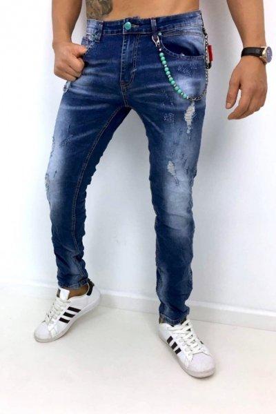 Spodnie jeans XBT-M1067