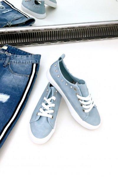 Trampki SHINE - blue