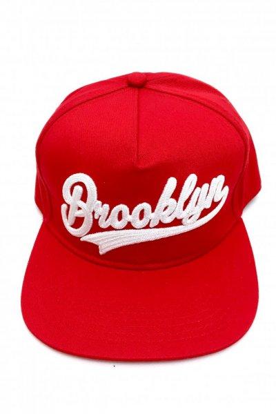 Czapka z daszkiem Brooklyn czerwona