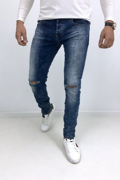 Spodnie jeans Slim Fit KYB908