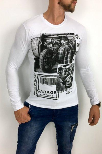 Longsleeve Garage 11319 Biały