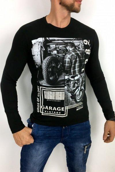 Longsleeve Garage 11319 czarny