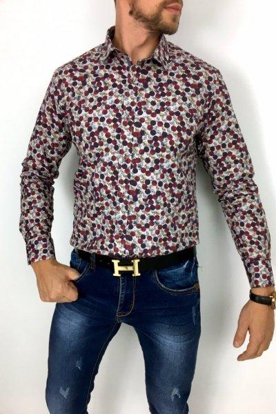 Koszula Huzar H8 Kropki