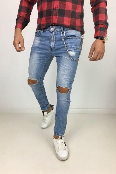Spodnie jeans MT269