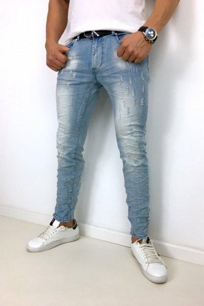 Spodnie Jeans KYB955 JASNY JEANS