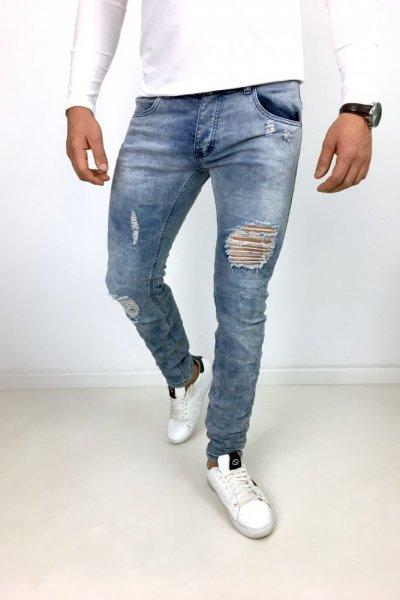 Spodnie jeans WA918050 JASNY JEANS