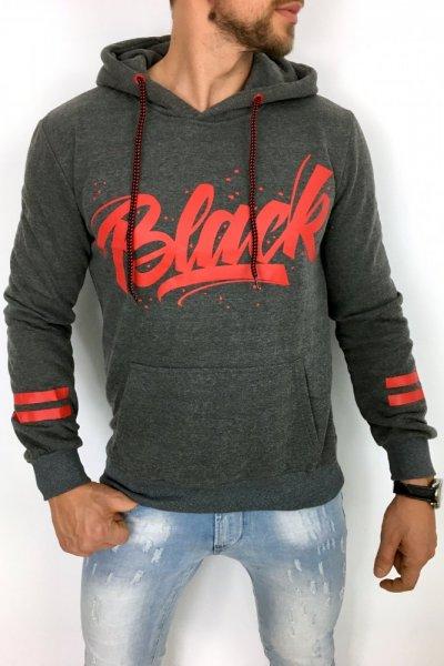 Bluza Black szara