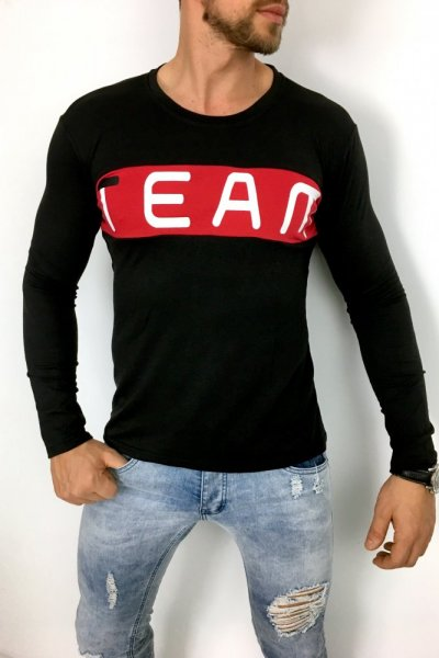 Longsleeve Team czarny
