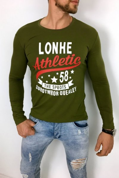 Longsleeve Athletic KHAKI