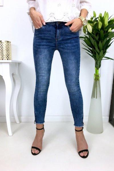 Spodnie jeansy skinny - S231F blue
