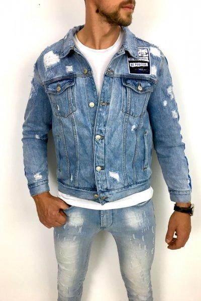 Kurtka jasny jeans TH37395