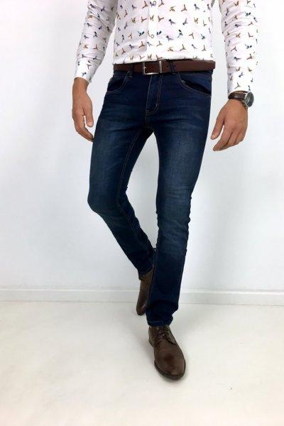 Spodnie jeans klasyczne EF2228