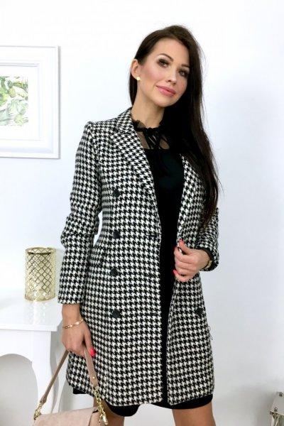 Płaszcz VOGUE - pepitka