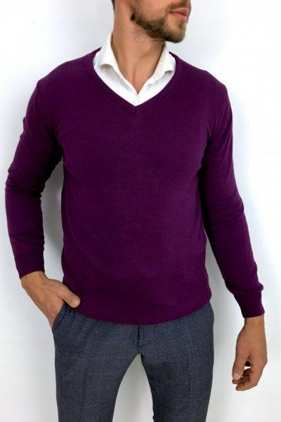 Sweter Huzar Fiolet