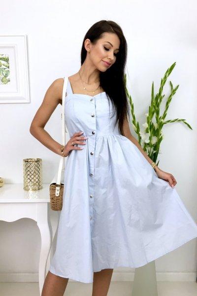 Sukienka LILLU - blue