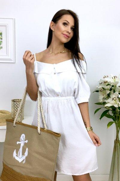 Sukienka LUISA - white
