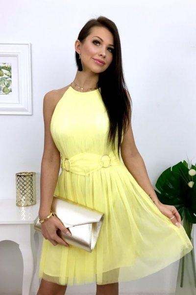 Sukienka SCARLET - yellow