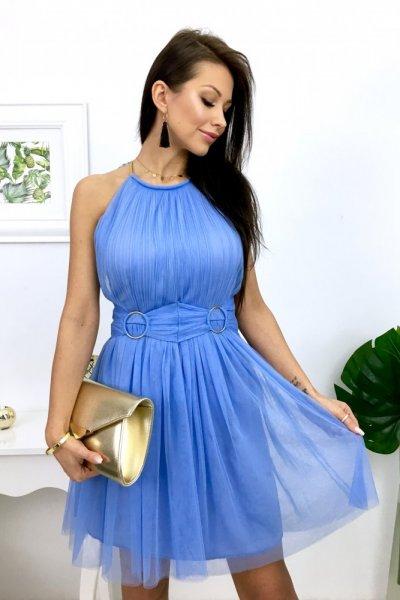 Sukienka SCARLET - blue