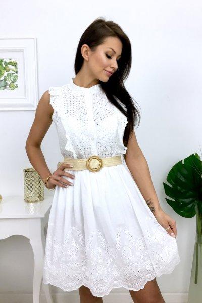 Spódnica IMPRESSO - biała