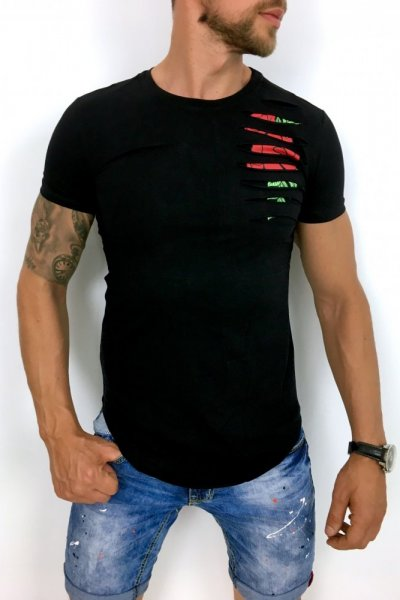 T shirt ROSE BLACK A50
