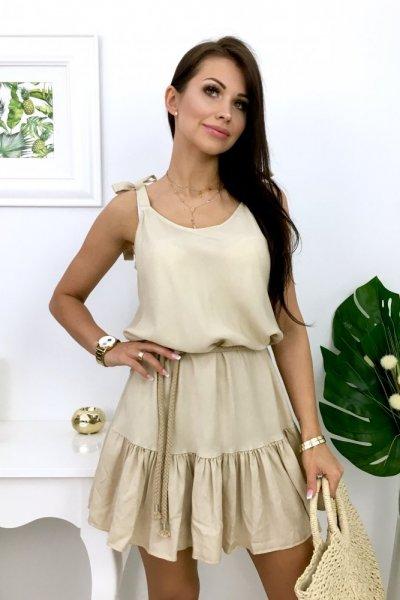 Sukienka CYPRUS 2 - beige