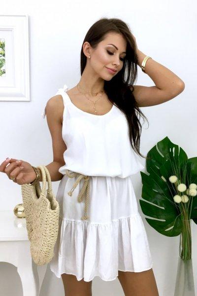 Sukienka CYPRUS 2 - white