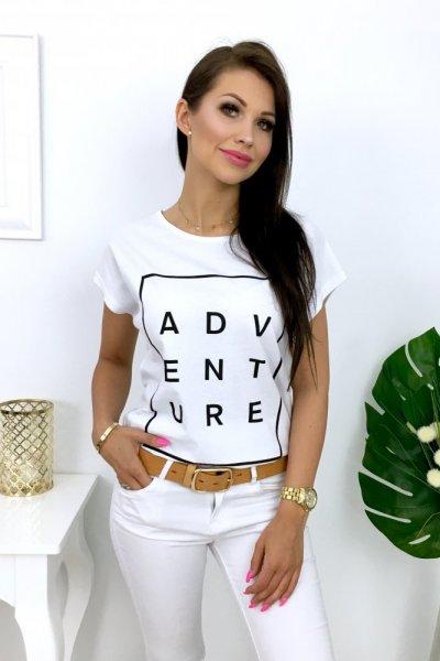 T - shirt ADVENTURE - white