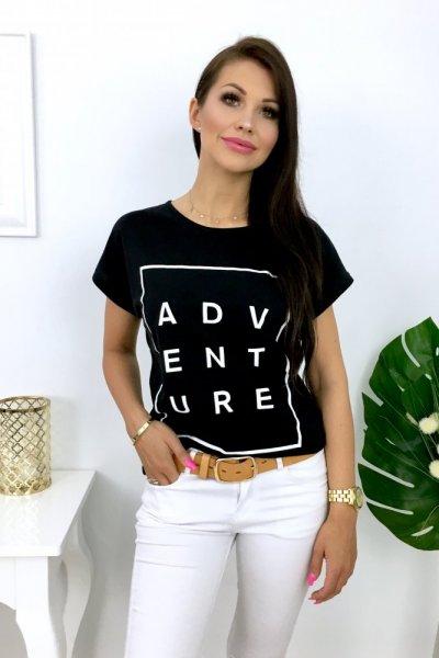 T - shirt ADVENTURE - black