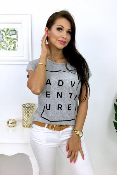 T - shirt ADVENTURE - grey