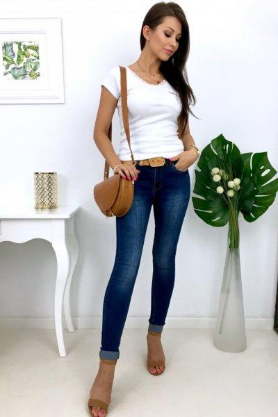 Spodnie jeans VERSION A-330 - dark blue