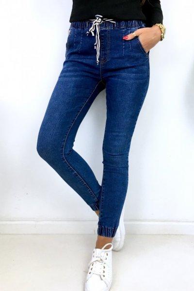Spodnie jeansowe typu BAGGY - dark blue