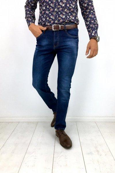 Spodnie męskie jeans klasyczne TG19025-2P