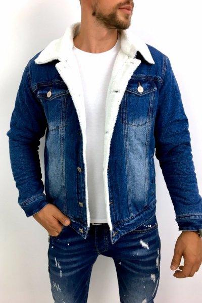 Kurtka jeans z ocieplaczem FF3905