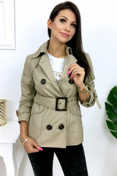 Płaszcz/trencz CLASS - beige
