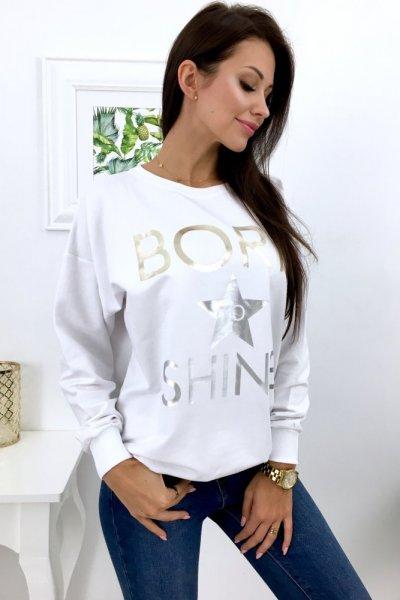 Bluza BORN - white