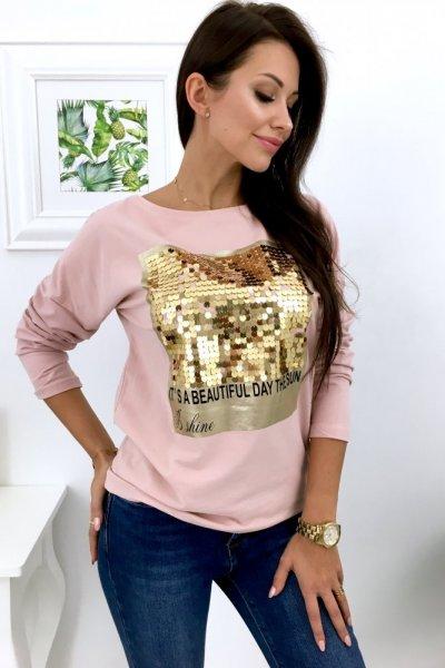 Bluza IS SHINE - pink