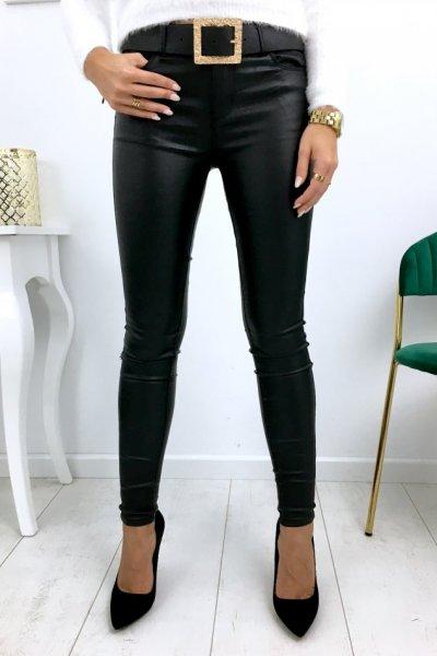Spodnie PUSH UP WOSK ( DJ602 ) - black
