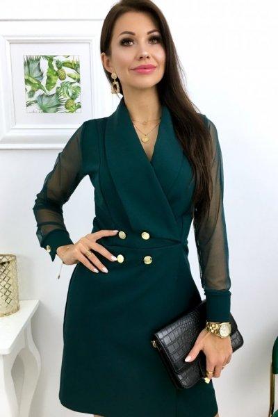 Sukienka VIKTORIA - green