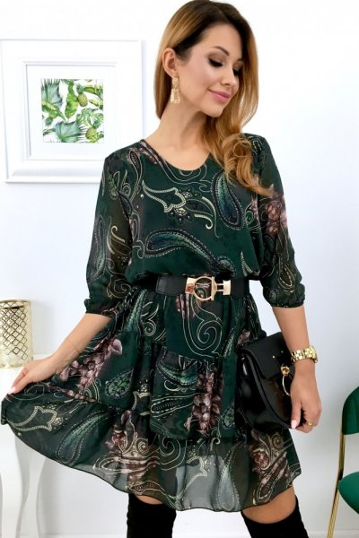 Sukienka MOOD - green