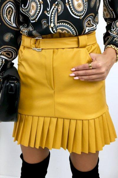 Spódnica eco ZARRA -yellow