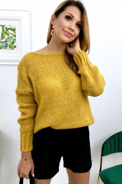 Sweter ROXY - musztardowy