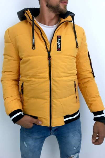 Kurtka Zimowa żółta D-99889 Supre