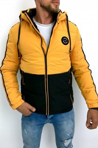 Kurtka zimowa żółta XH-99928