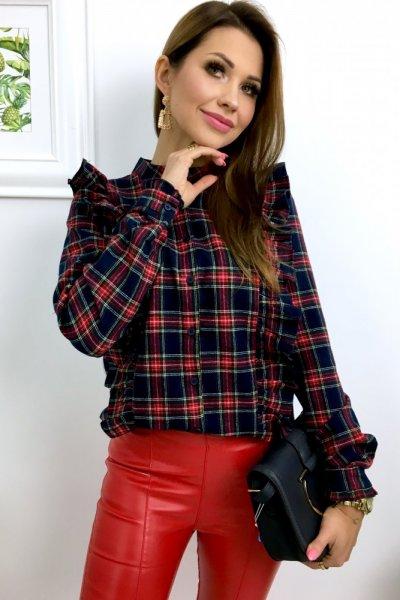 Koszula w kratkę - blue/red