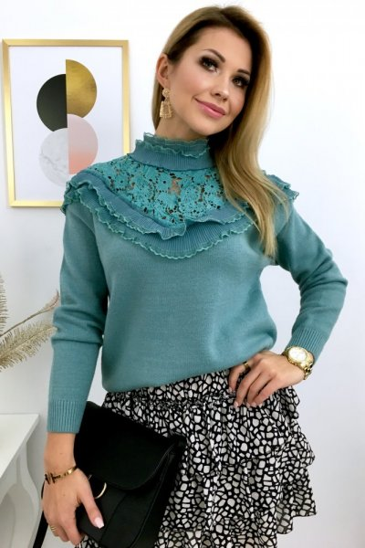 Sweter GD Paris - blue