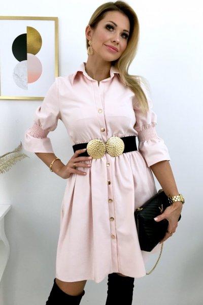 Sukienka MARCHE LUX - pink